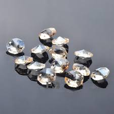 14mm faceted glass crystal beads lamp chandelier parts crystal diy handmade jewelry accessories beadsfaceted glass crystal beads