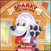 sparky the fire dog robot. in sparky the fire dog (imagine/charlesbridge, available october 1, $7.95), written by best-selling team of author don hoffman and illustrator todd robot