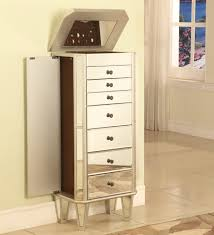 standing mirrored jewelry armoire baxton studio bimini cheval wood crown designs inspiration 2400 2640