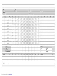 Sample Phase 10 Score Sheet Template Score Sheet Template 24 Free Templates In PDF Word Excel Download 20