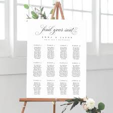 Etsy Wedding Seating Chart Wedding Seating Chart Template Seating Chart Printable Seating Board Printable File Templett Diy Instant Download Rustic Wedding