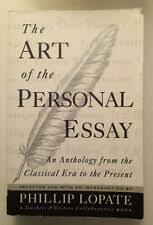 The Art Of The Personal Essay The Art Of The Personal Essay Classical To Present Phillip