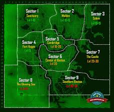 World Map Enemy Levels Fallout 4 Game Guide