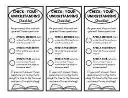 Monitor And Clarify Anchor Chart Monitor And Clarify Worksheets Teaching Resources Tpt