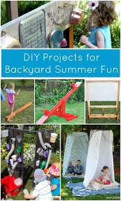 get kids playing outdoors more this summer with these 6 diy projects for backyard fun