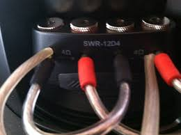 what is correct way to wire alpine type r sub to 2 ohms pics attached now if this is correct running the jumpers in to the terminal the speaker wire do you think those jumpers will fall out when the bass hits