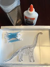 you can create this diy dino dig with items you most likely have around the house already and just a small amount to prepare ahead of time