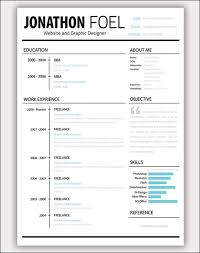 Best Looking Resume Template Best Of Unique Resume Templates Spectacular Amazing Resume Templates