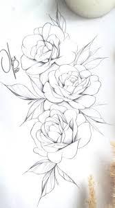 рози трафарет витраж татуировка бедра эскиз тату и идеи для