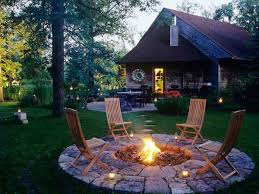 diy patio with fire pit. Plain Fire DIYFirePits26 To Diy Patio With Fire Pit