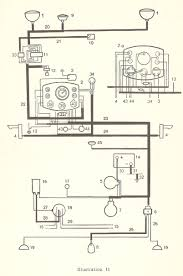 thesamba com type 1 wiring diagrams 1974 vw beetle fuse box diagram at 74 Vw Bug Wiring Diagram