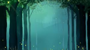 Fantasy Forest Background Dream Forest Psychedelic