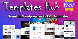 Free Html Templates Wordpress Themes Templateshub