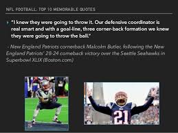 Football Quotes By Players New NFL's Top 48 Memorable Quotes From Players And Coaches