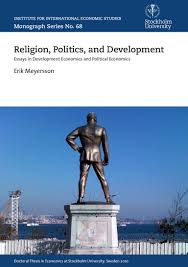 religion politics and development essays in development economics a