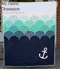 Best 25+ Nautical quilt ideas on Pinterest | Nautical baby quilt ... & My Fabric Obsession: Another nautical quilt! Adamdwight.com