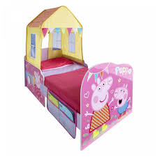 Peppa Pig Bedroom Decor Peppa Pig Toddler Feature Bed Big W