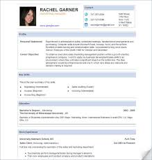 International Business Resume Objective 17 Pic Profile Personal