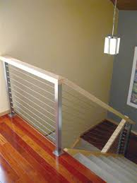 ... indoor cable railing exterior steel handrails create unique metal  handrailings with pinnacle products stainless rail wire ...