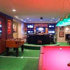Best 25+ Sports theme basement ideas on Pinterest | Sports theme rooms,  Football man cave and Sport room