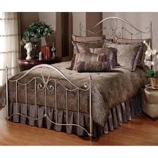 Pewter Bedroom Furniture Doheny Metal Bed In Pewter By Hillsdale Furniture Humble Abode