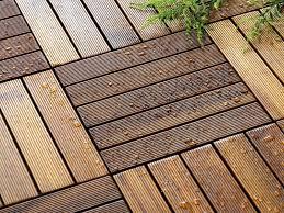 anti slip teak patio wood flooring tiles
