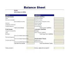 Balance Statement Classified Sheet Template Excel Accounting ...