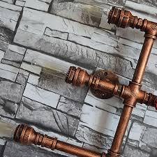 5 Köpfe Wasserpfeife Steampunk Vintage Wandleuchten Für Esszimmer Bar Dekoration Amerikanischen Industrie Loft E27 Wandleuchte