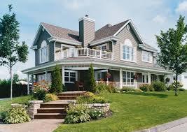 Bedroom House Plans Wrap Around Porch With Log Home Porches Three Plan  Wraparound Maver: ...