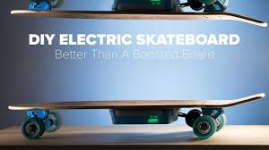 diy electric skateboard build better than a boosted board