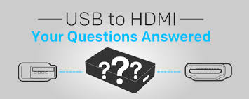 connecting usb to hdmi sewelldirect com your usb to hdmi questions answered