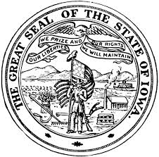 Image result for iowa state seal