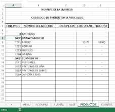 Inventario Excel Sistema De Gestion Facturacion E Inventario En Excel 15