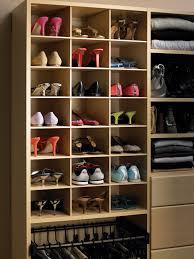 shoe racks for closets design