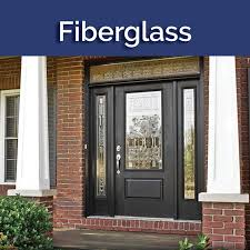 fiberglass doors can look like wood but do not warp or rot like a wood door fiberglass doors are also available smooth but do not dent or rust like a