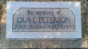 Ola Edith Harding Peterson (1884-1953) - Find A Grave Memorial