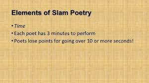 Slam Poetry Smore Newsletters For Education