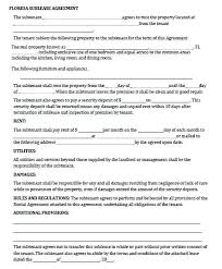 Sublease Form Fresh Free Month To Lease Agreement Sublease Template Fresh