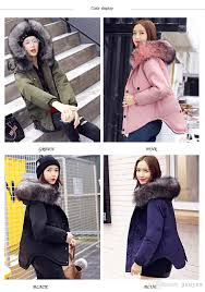 2017 new winter women jacket fur collar hooded parkas sashes cotton duck down warm coat large size mid long length overcoats snowoutwear winter coat down