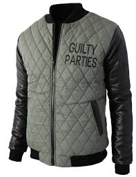 Cheap Slim Quilted Jacket, find Slim Quilted Jacket deals on line ... & H2H Mens Various Styles Quilted Padded Slim Fit Varsity Baseball Zip-up  Jacket Adamdwight.com