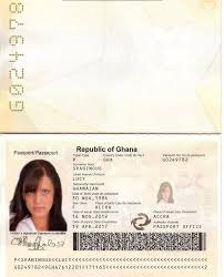 Ghanna So Facebook Scammers Passport Someone Met I From Busted Ghana -