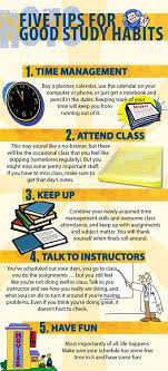 best good study habits ideas study habits  five tips for good study habits studying tips study tips