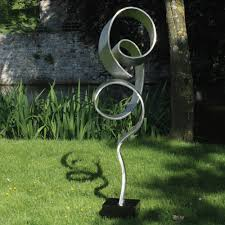Large Infinite Metal Garden Sculpture Contemporary Art Statue