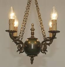 Led Deckenlampe Messing Kronleuchter Stil Empire Antik