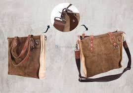 home canvas shoulder bag