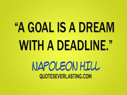 Quote On Dreams And Goals Best of A Goal Is A Dream Quotes Everlasting