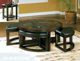 round coffee table with seats round coffee table with stools coffee table with ottomans coffee table