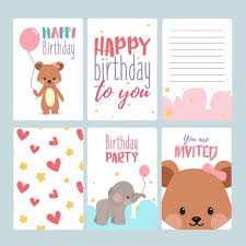 17 Birthday Card Templates Free Psd Eps Document