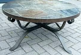 round stone coffee table stone top coffee table stone top outdoor tables round stone coffee table