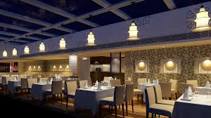 luxury restaurant with high-end wall decor 3d model max 1 ...